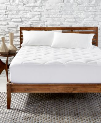 Primaloft Silver Series Quilted California King Mattress Pad, Created for Macy's