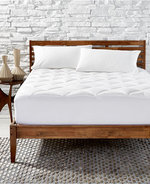 Hotel Collection Primaloft Quilted Queen Mattress Pad, Created for Macy's