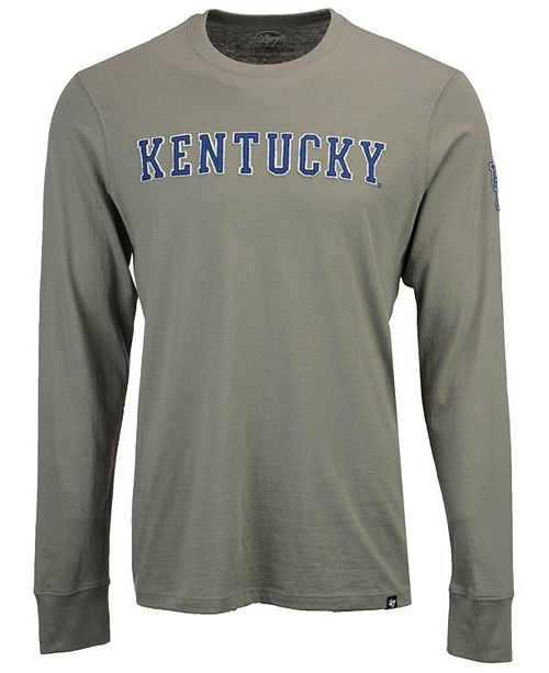 '47 Brand Men's Kentucky Wildcats Fieldhouse Long Sleeve T-Shirt