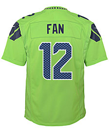 Nike Fan Seattle Seahawks Color Rush Jersey, Toddler Boys