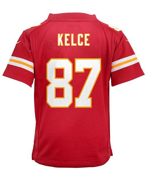 best loved 1b48c 3f53d Travis Kelce Kansas City Chiefs Game Jersey, Toddler Boys