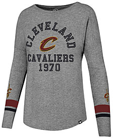 '47 Brand Women's Cleveland Cavaliers Encore Long Sleeve T-Shirt