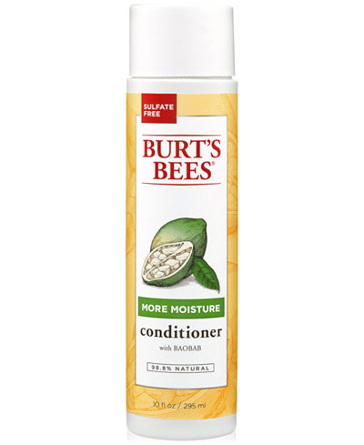 Burt's Bees More Moisture Conditioner With Baobab, 10 fl. oz.