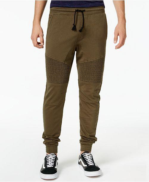 American Rag Men's Moto Jogger Pants, Created for Macy's