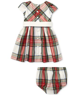 Plaid Taffeta Dress