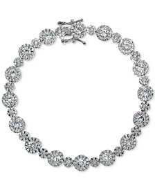 Giani Bernini Cubic Zirconia Link Bracelet in Sterling Silver, Created for Macy's