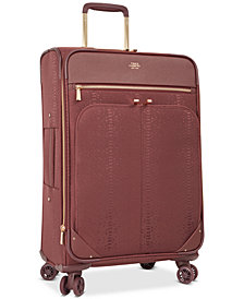 "CLOSEOUT! Vince Camuto Ameliah 24"" Expandable Softside Spinner Suitcase"