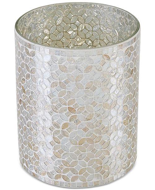 JLA Home Cape Mosaic Wastebasket, Created for Macy's