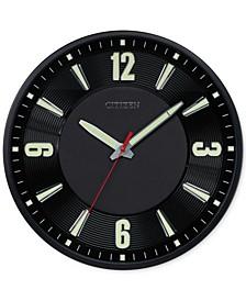 Gallery Black Metal Wall Clock