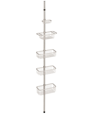 Interdesign Nogu 5-Tier Wide Nesting Shower Caddy Bedding