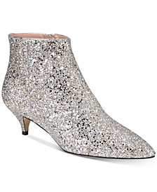 kate spade new york Olly Too Pointed-Toe Ankle Booties