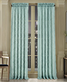 "J Queen New York Gemstone Sheer 50"" x 95"" Rod Pocket Curtain Panel"