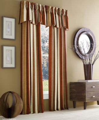 "Valdosta Cotton Stripe 50"" x 84"" Rod Pocket Curtain Panel"