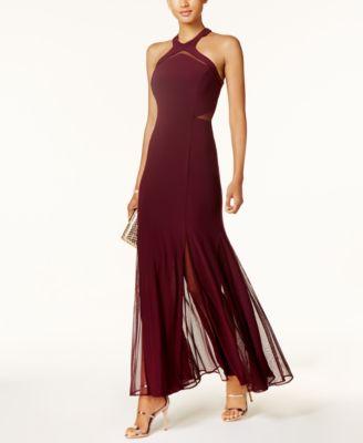 Red Halter Mermaid Dress