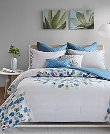 Urban Habitat Nico 7-Pc. Cotton Full/Queen Comforter Set