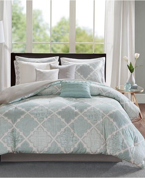 aqua blue piece alert madison park turq deal sets turquoise comforter lyla shop set