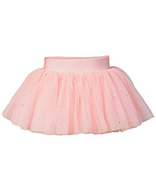 Flo Dancewear Embellished Diamante Tutu Skirt, Little Girls & Big Girls