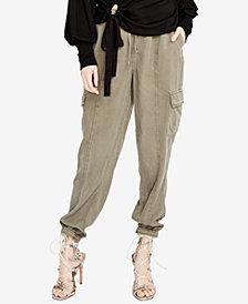 RACHEL Rachel Roy Drawstring Cargo Pants