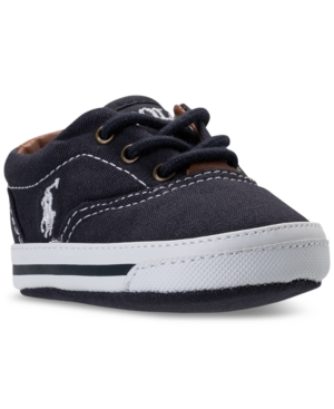 Polo Ralph Lauren Baby Boys Layette Vaughn Crib Shoes from Finish Line