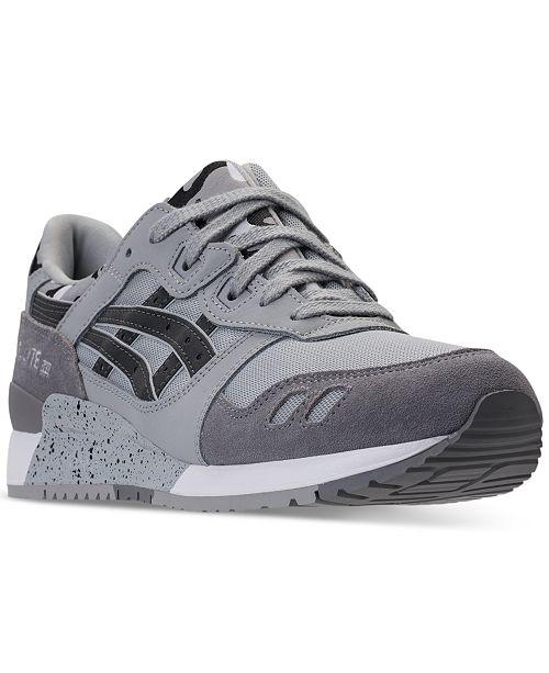 2baacf5637ca Asics Men s GEL-Lyte III Casual Sneakers from Finish Line   Reviews ...