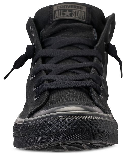5f38f936e38c1f ... Converse Men s Chuck Taylor All Star Street Mid Casual Sneakers From Finish  Line ...