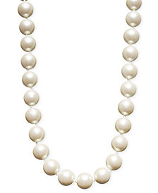 Charter Club Simulated Pearl Strand (14 mm)