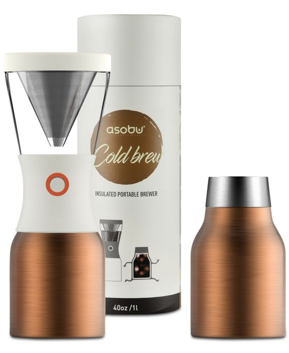 Asobu Cold Brew Coffee Maker, Gold