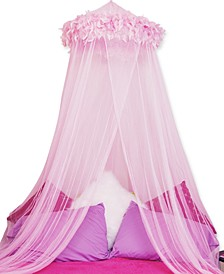 Bedding, Feather Boa Canopy