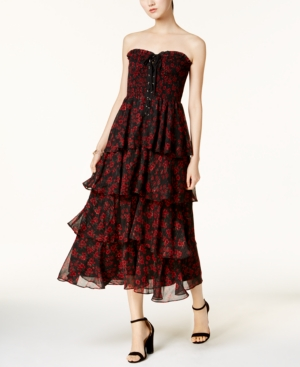 endless rose Tiered Midi...