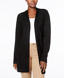 Karen Scott Petite Cardigan Sweater, Created for Macy's