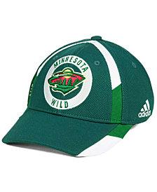 adidas Minnesota Wild Practice Jersey Hook Cap