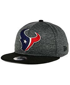New Era Houston Texans Heather Huge 9FIFTY Snapback Cap