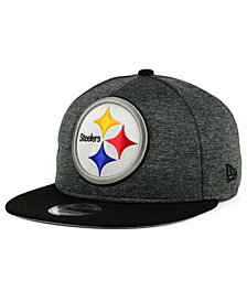 New Era Pittsburgh Steelers Heather Huge 9FIFTY Snapback Cap