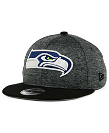 New Era Seattle Seahawks Heather Huge 9FIFTY Snapback Cap
