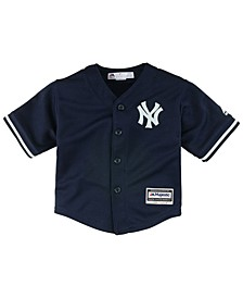 New York Yankees Blank Replica Cool Base Jersey, Toddler Boys (2T-4T)
