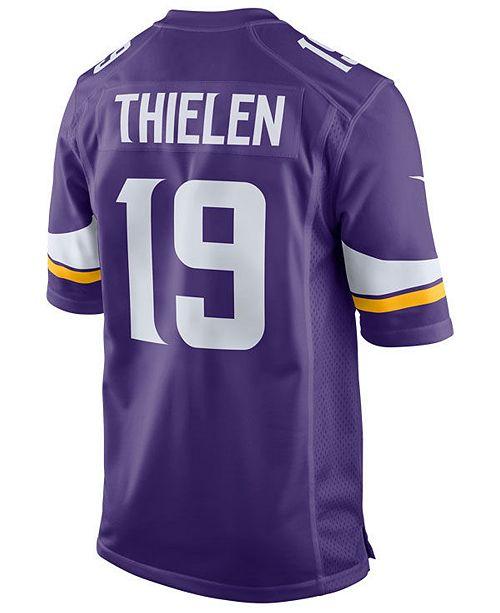 6b532cca284 Nike Men s Adam Thielen Minnesota Vikings Game Jersey   Reviews ...