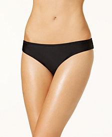 Jessica Simpson Shirred Cheeky Hipster Bikini Bottoms