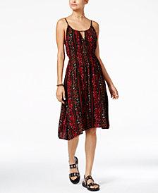Volcom Juniors' Rough Edges Printed Dress