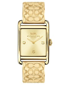 Women's Renwick Gold-Tone Bangle Bracelet Watch 25x35mm