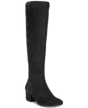 Bandolino Florie Wide-Calf Boots Women's Shoes 5342963