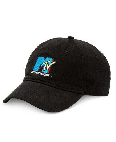 Block Hats Men's MTV Logo Cap