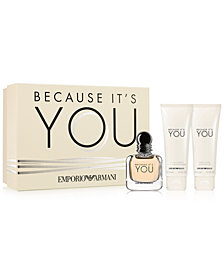Emporio Armani 3-Pc. Because It's You Gift Set