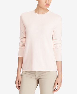 Polo Ralph Lauren Roll-Neck Cashmere Sweater - Sweaters - Women ...