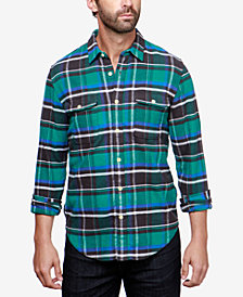 Lucky Brand Men's Saturday Plaid Shirt