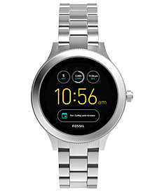 Fossil Q Women's Venture Gen 3 Stainless Steel Bracelet Touchscreen Smart Watch 42mm