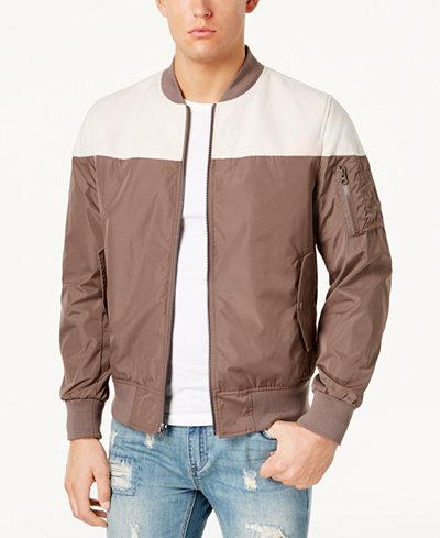 American Rag Men's Textured Flight Jacket, Created for Macy's