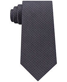 Michael Kors Men's Pin Dot Melange Silk Tie