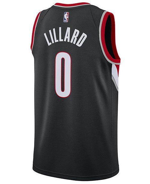 ... Nike Men s Damian Lillard Portland Trail Blazers Icon Swingman Jersey  ... bb91e4ca9