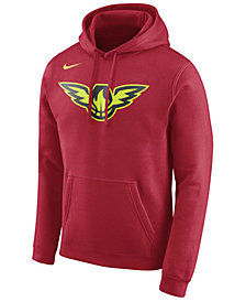 Nike Men's Atlanta Hawks Logo Club Hoodie