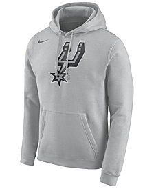 Nike Men's San Antonio Spurs Logo Club Hoodie